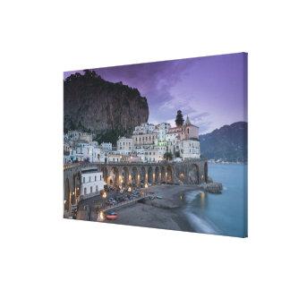 Europe, Italy, Campania (Amalfi Coast) Atrani: Canvas Print