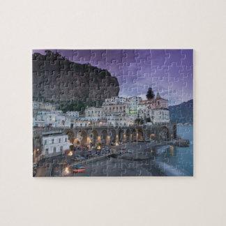 Europe, Italy, Campania (Amalfi Coast) Atrani: Jigsaw Puzzle