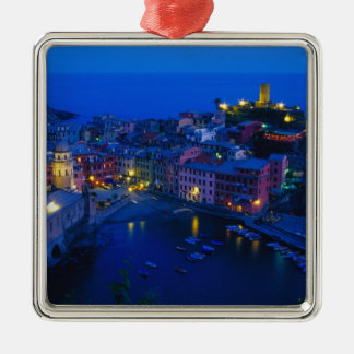 Europe, Italy, Cinque Terre, Vernazza. Hillside Christmas Ornament