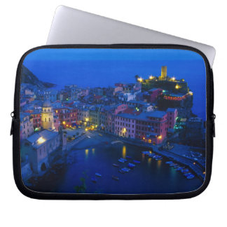 Europe, Italy, Cinque Terre, Vernazza. Hillside Laptop Sleeve