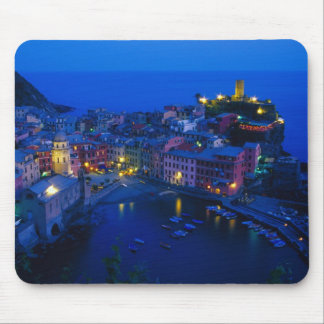 Europe, Italy, Cinque Terre, Vernazza. Hillside Mouse Mat