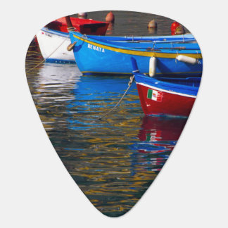 Europe, Italy, Cinque Terry, boats in Vernazza Plectrum
