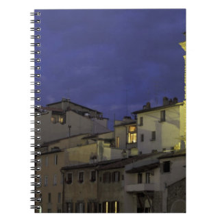 Europe, Italy, Florence, Architectural detail; Note Book