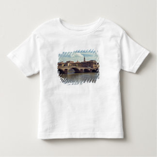 Europe, Italy, Florence. The Arno River flows Toddler T-Shirt