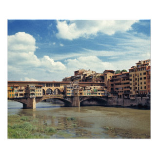 Europe, Italy, Florence. The Ponte Vecchio Photo Print