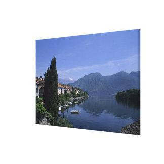 Europe, Italy, Lake Como, Tremezzo. Northern Canvas Prints