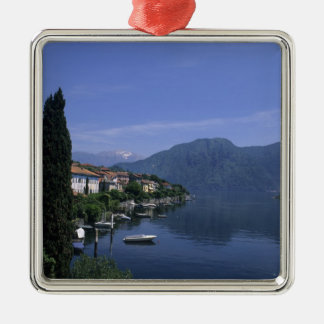 Europe, Italy, Lake Como, Tremezzo. Northern Christmas Ornament