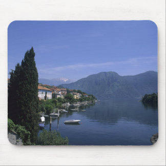 Europe, Italy, Lake Como, Tremezzo. Northern Mouse Pad