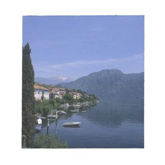 Europe, Italy, Lake Como, Tremezzo. Northern Notepad