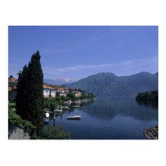 Europe, Italy, Lake Como, Tremezzo. Northern Postcard