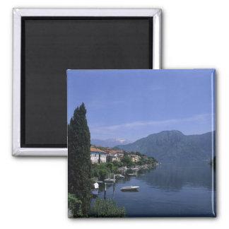 Europe, Italy, Lake Como, Tremezzo. Northern Square Magnet