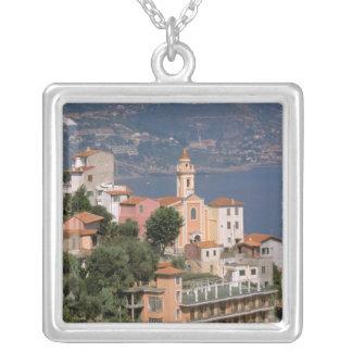 Europe, Italy, Liguria, La Mortola, Riviera di Silver Plated Necklace