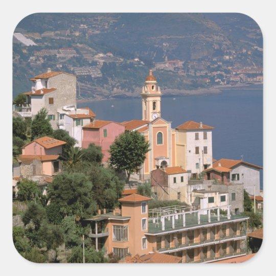 Europe, Italy, Liguria, La Mortola, Riviera di Square