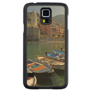 Europe, Italy, Liguria region, Cinque Terre, 2 Carved Maple Galaxy S5 Case