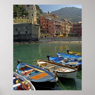 Europe Italy Liguria region Cinque Terre 2 Poster