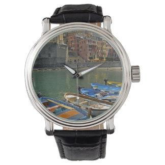 Europe, Italy, Liguria region, Cinque Terre, 2 Wristwatch