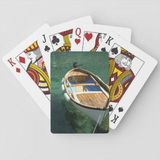 Europe, Italy, Liguria region, Cinque Terre, 3 Poker Deck