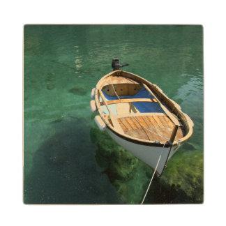 Europe, Italy, Liguria region, Cinque Terre, 3 Wood Coaster