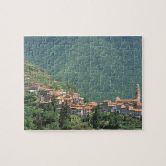 Europe, Italy, Liguria, Riviera di Ponente, 3 Puzzles