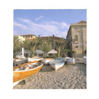 Europe, Italy, Liguria, Riviera di Ponente, 4 Notepad