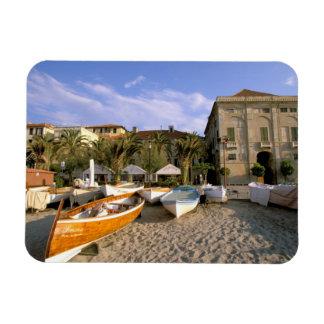 Europe, Italy, Liguria, Riviera di Ponente, 4 Rectangular Photo Magnet
