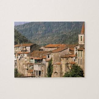 Europe, Italy, Liguria, Riviera di Ponente, Jigsaw Puzzle