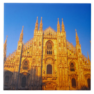 Europe, Italy, Milan, Cathedral of Milan Tile