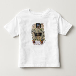 Europe, Italy, Monteriggioni. A stone house is Toddler T-Shirt