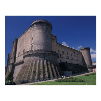 Europe, Italy, Naples, Castle Nuovo Postcard