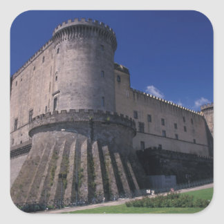 Europe, Italy, Naples, Castle Nuovo Stickers