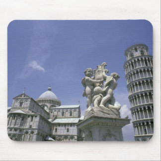 Europe, Italy, Pisa, Leaning Tower of Pisa Mouse Mat