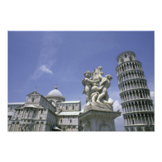 Europe, Italy, Pisa, Leaning Tower of Pisa Photograph