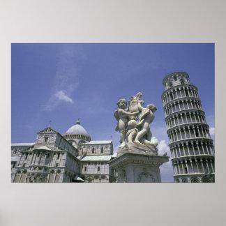 Europe Italy Pisa Leaning Tower of Pisa Print