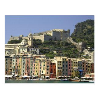 Europe, Italy, Portovenere aka Porto Venere. Postcard