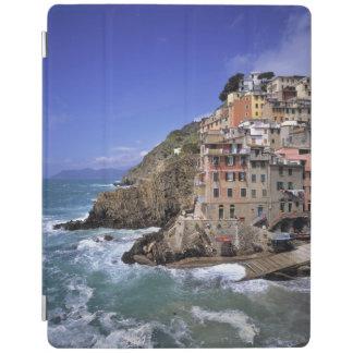 Europe, Italy, Riomaggiore. Riomaggiore is built iPad Cover