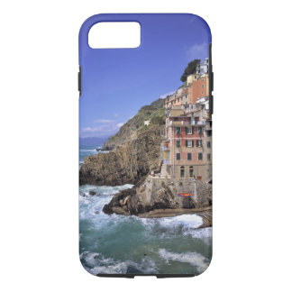 Europe, Italy, Riomaggiore. Riomaggiore is built iPhone 8/7 Case
