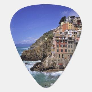 Europe, Italy, Riomaggiore. Riomaggiore is built Plectrum