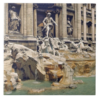 Europe, Italy, Rome. Coins litter the bottom of Large Square Tile