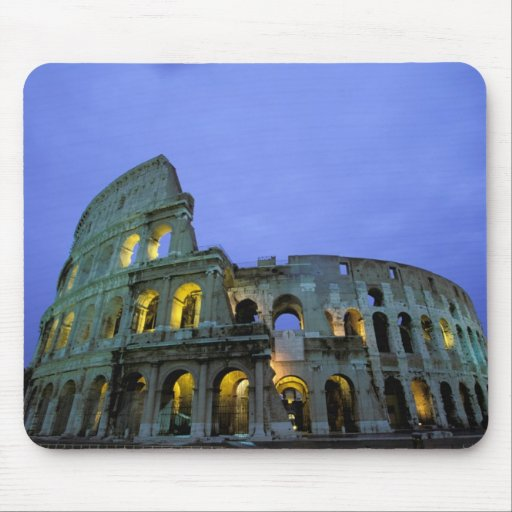 Europe, Italy, Rome. Evening view of the Mousepads