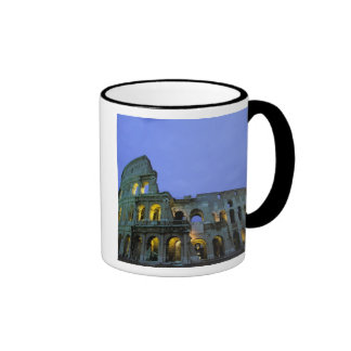 Europe, Italy, Rome. Evening view of the Mugs