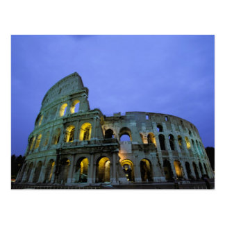Europe, Italy, Rome. Evening view of the Postcard