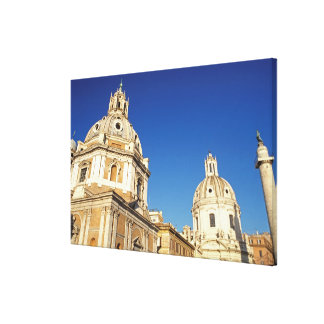 Europe, Italy, Rome. Santa Maria Di Lorento and Canvas Print