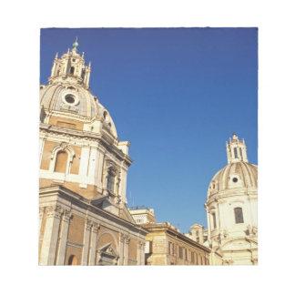 Europe, Italy, Rome. Santa Maria Di Lorento and Notepad