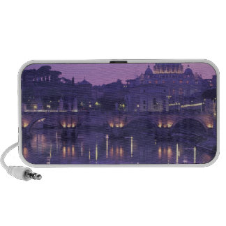 Europe, Italy, Rome. St. Peter's and Ponte Sant Speakers