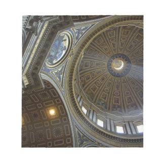 Europe, Italy, Rome. St. Peter's Basilica (aka Notepad
