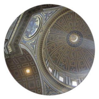 Europe, Italy, Rome. St. Peter's Basilica (aka Party Plates