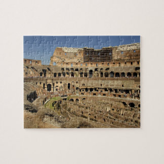 Europe, Italy, Rome. The Colosseum (aka Jigsaw Puzzle