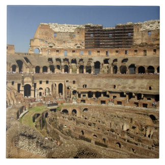 Europe, Italy, Rome. The Colosseum (aka Tile