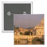 Europe, Italy, Rome, The Vatican. Basilica San 15 Cm Square Badge