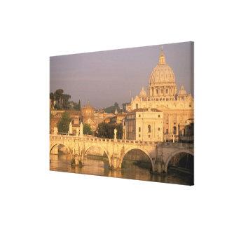 Europe, Italy, Rome, The Vatican. Basilica San Canvas Print